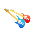 Icon electronic guitar vector