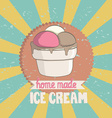Vintageicecream vector