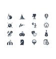 Entertainment icons lyra series vector