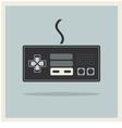 Computer video game controller joystick vector