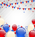 American background for independence day vector