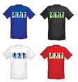 Soccer t-shirts for men vector