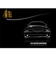 Al 0617 car silhouette vector