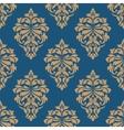 Elegance floral damask seamless pattern vector