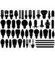 Light bulbs set vector