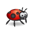 Cartoon ladybug vector