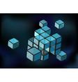 Cube construction vector