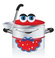 Happy pan vector