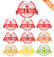 Sale discount tag - - eps10 vector