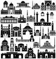 Architecture asia 1 vector