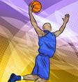Basketball player vector