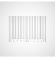 Background with paper barcode vector