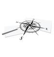 Compass paper vector