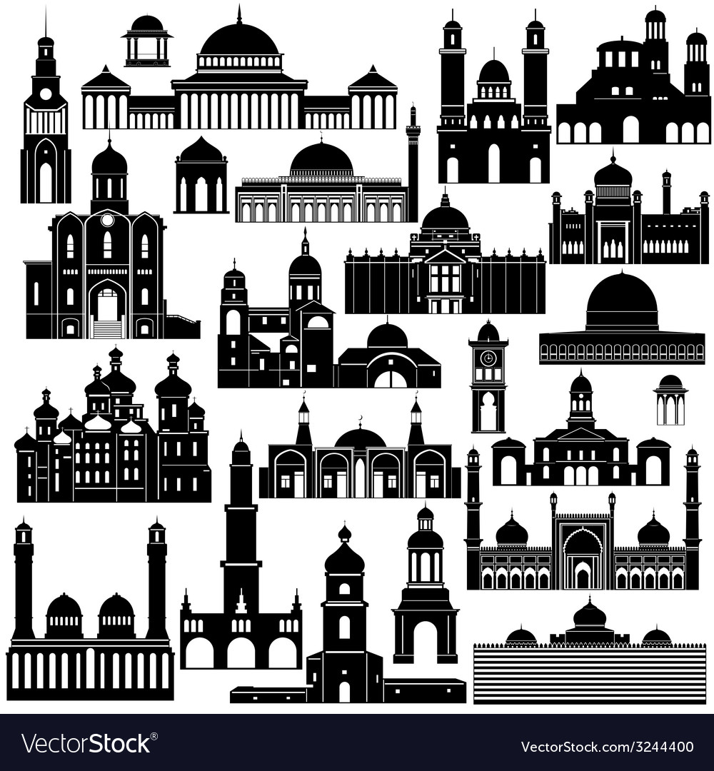 Architecture asia 2 vector | Price: 1 Credit (USD $1)