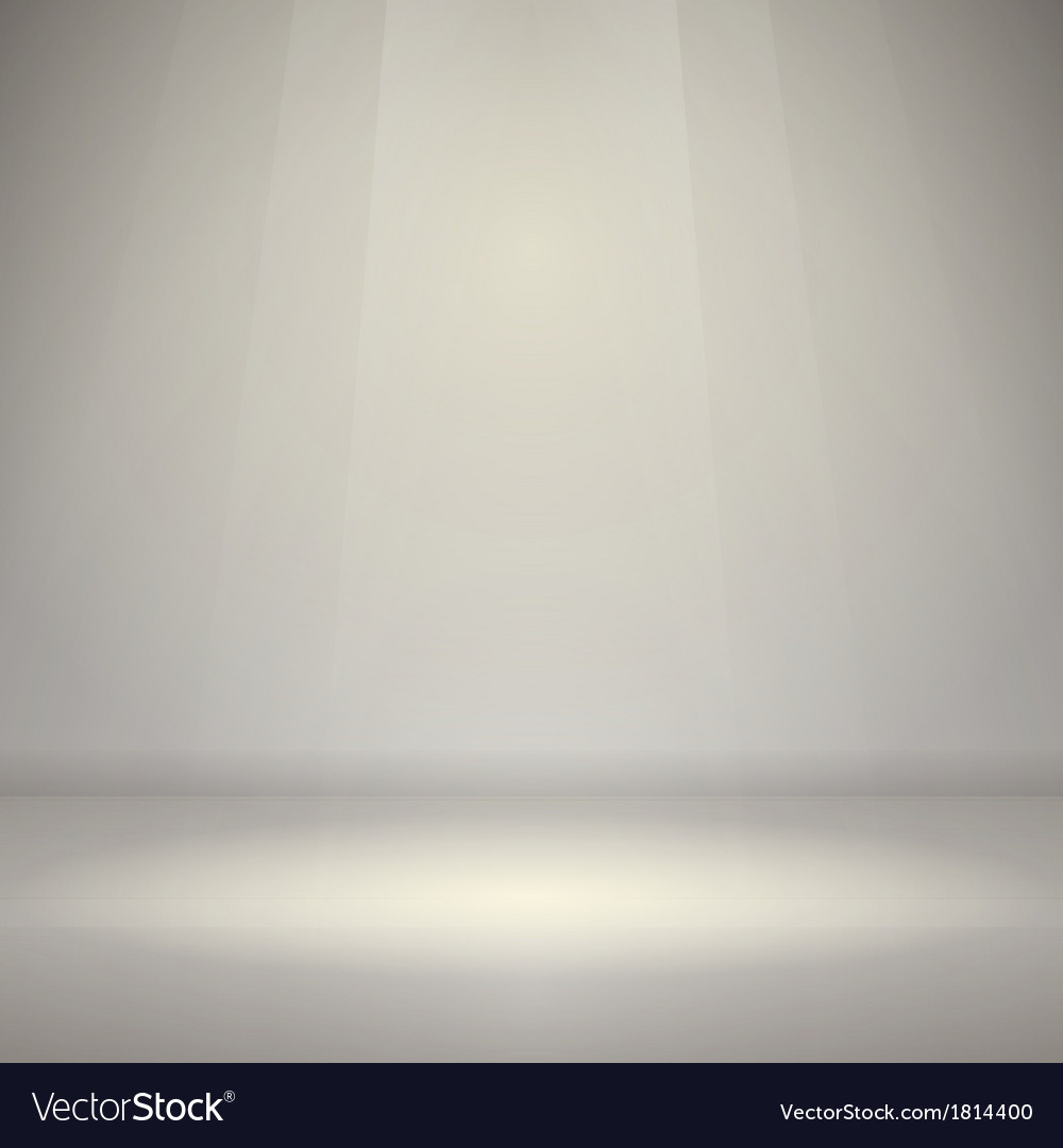 Empty room with light vector | Price: 1 Credit (USD $1)