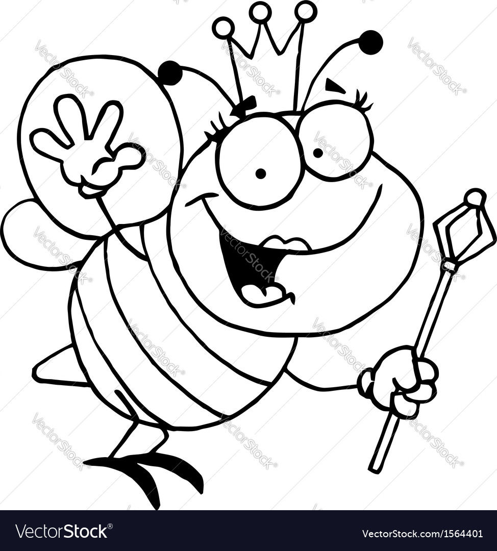 Bee cartoon vector | Price: 1 Credit (USD $1)
