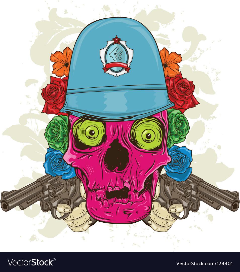 Police man vector | Price: 1 Credit (USD $1)
