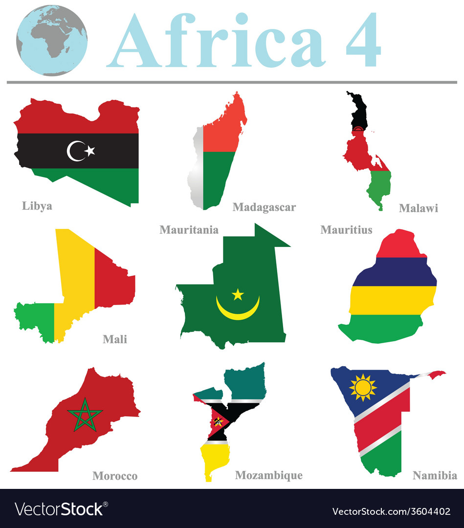 Africa collection 4 vector | Price: 1 Credit (USD $1)