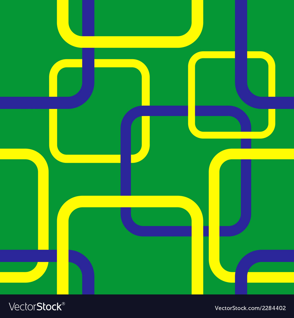 Geometric seamless pattern in brazil flag concept vector | Price: 1 Credit (USD $1)