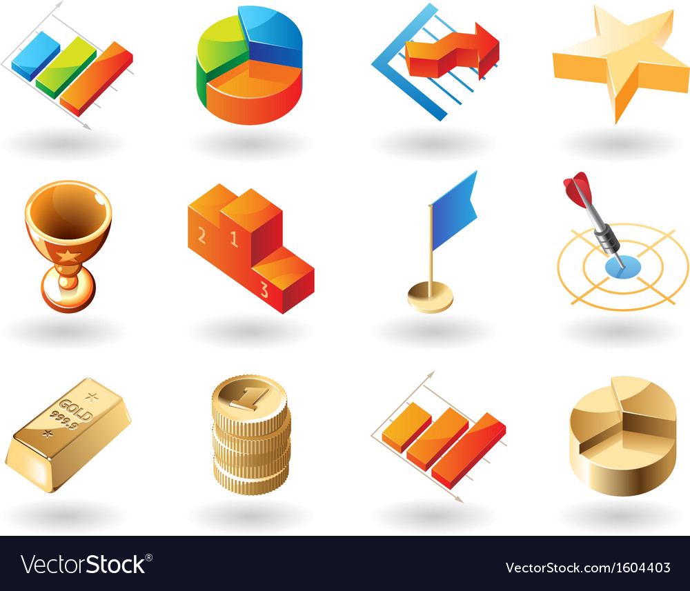 Icons for business vector | Price: 1 Credit (USD $1)