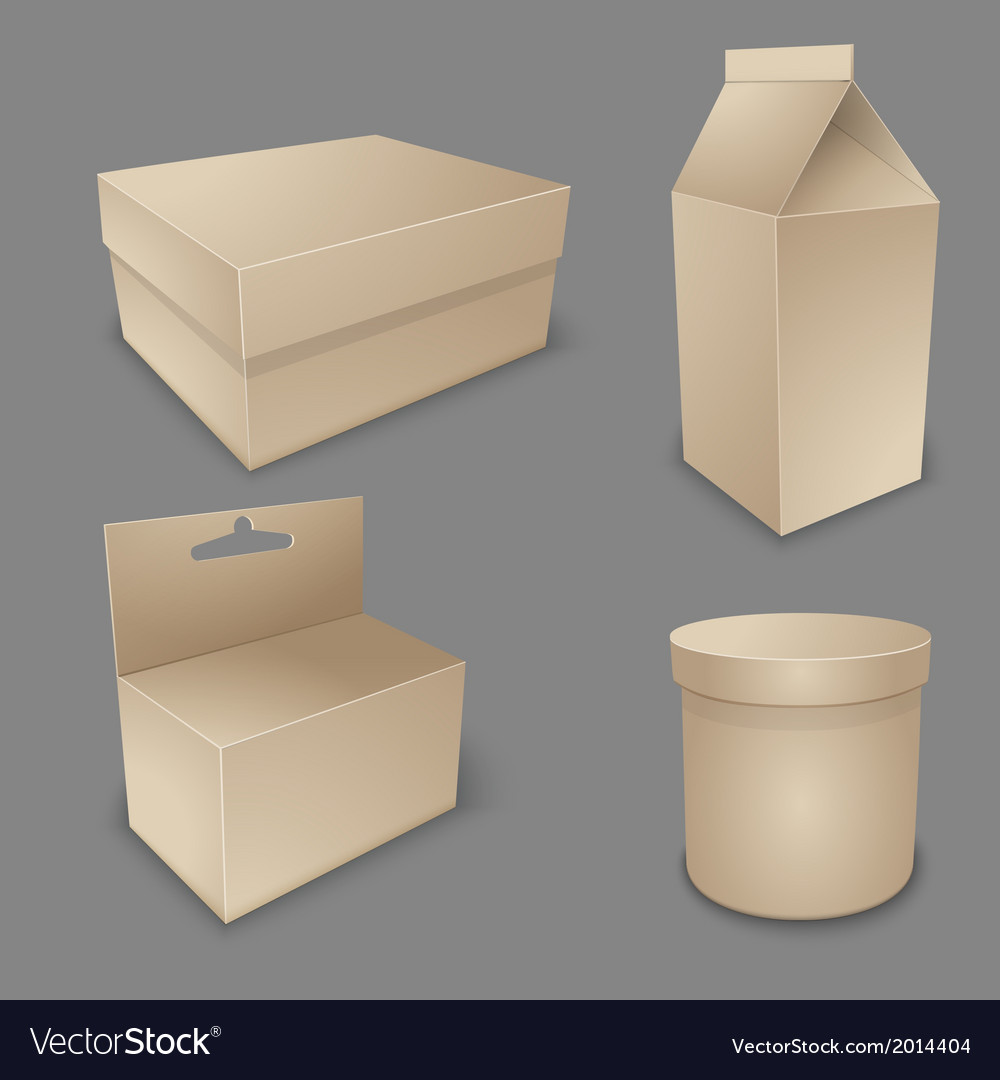 Blank packing collection vector | Price: 1 Credit (USD $1)