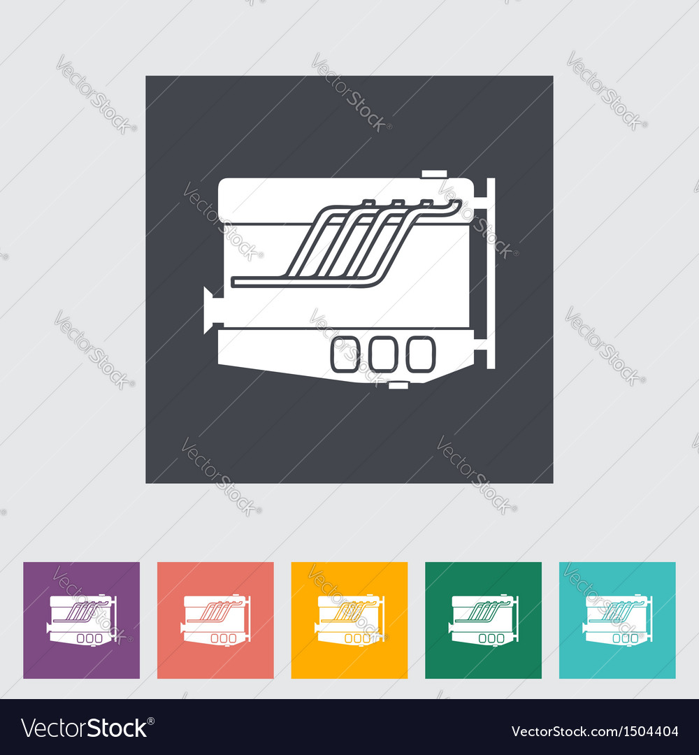 Engine icon vector | Price: 1 Credit (USD $1)