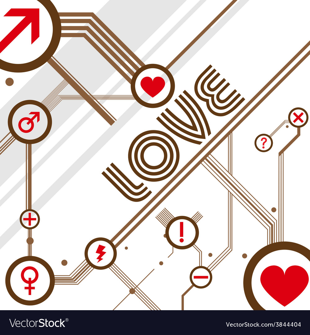 Love design background vector
