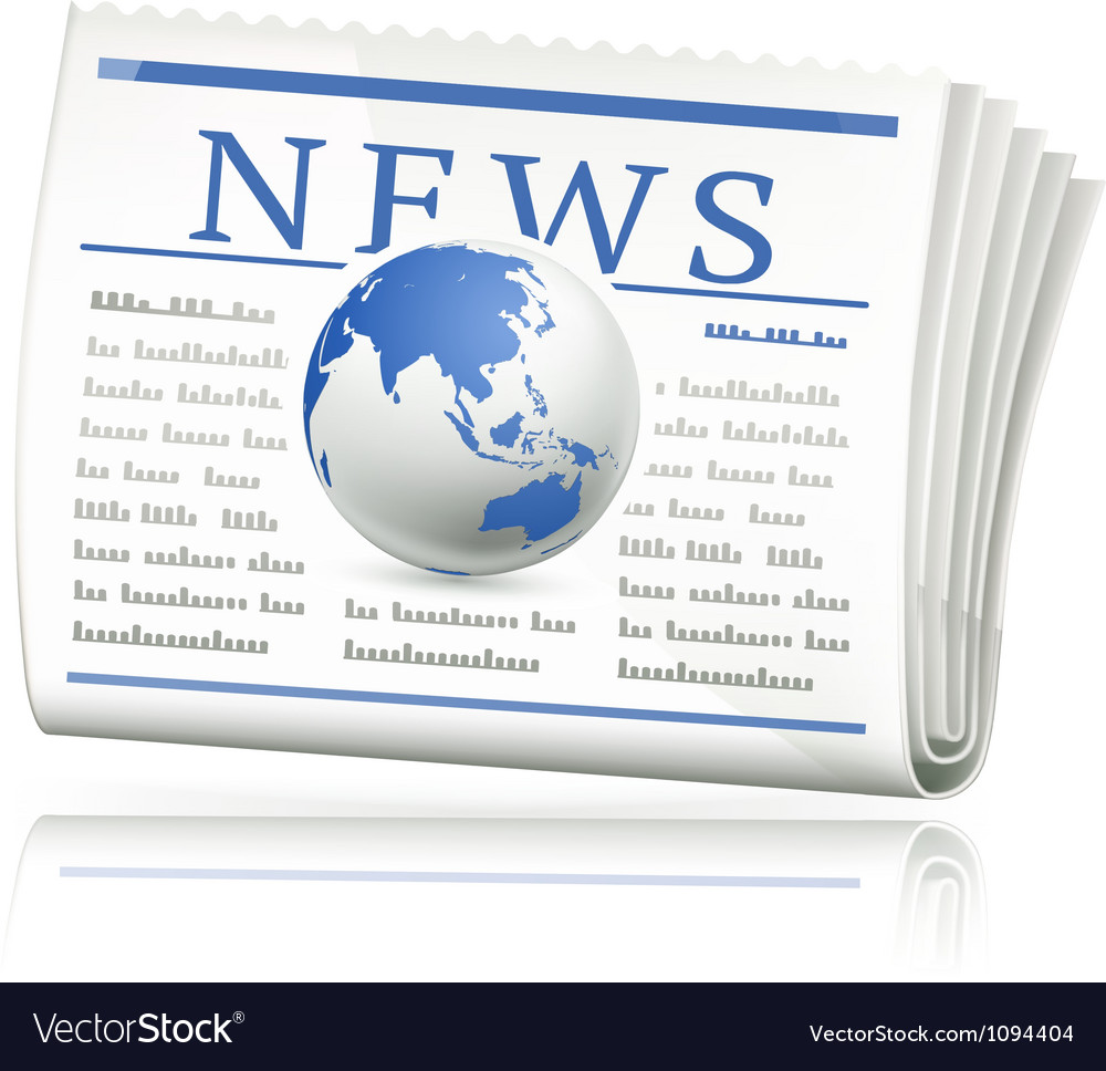 World news icon vector | Price: 1 Credit (USD $1)