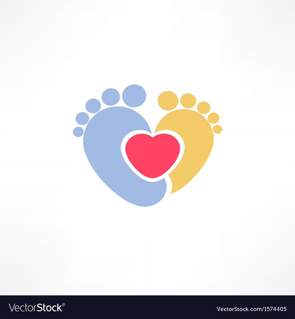 Baby foot vector | Price: 1 Credit (USD $1)