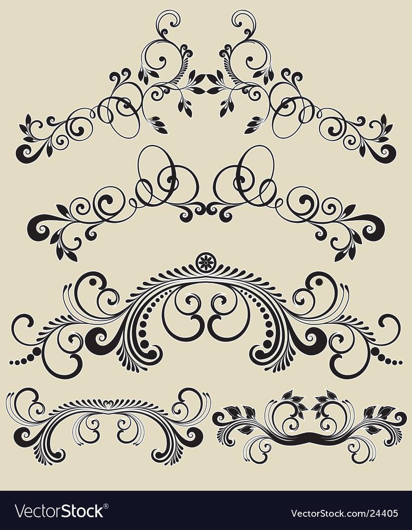 Patterns design vector | Price: 1 Credit (USD $1)
