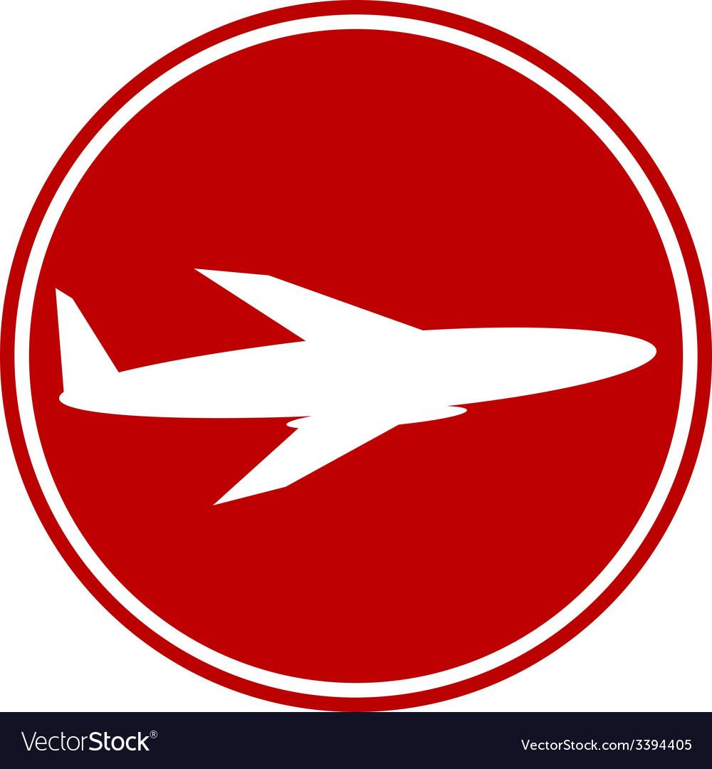 Plane button vector   Price: 1 Credit (USD $1)