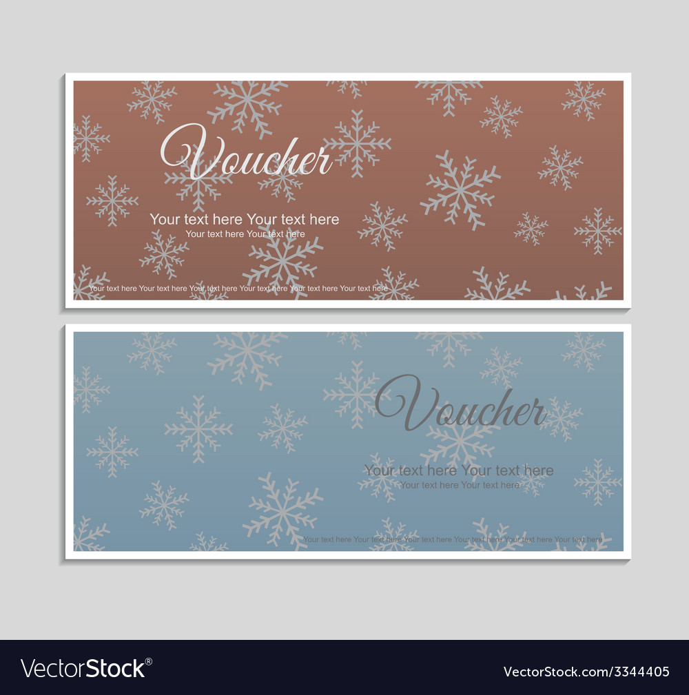 Voucher vector | Price: 1 Credit (USD $1)