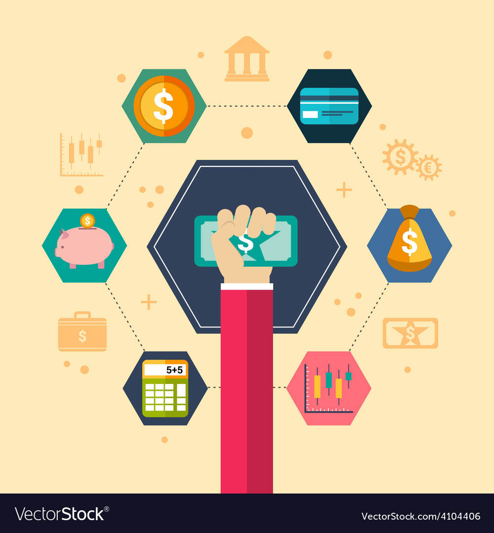 Financial concept vector | Price: 1 Credit (USD $1)