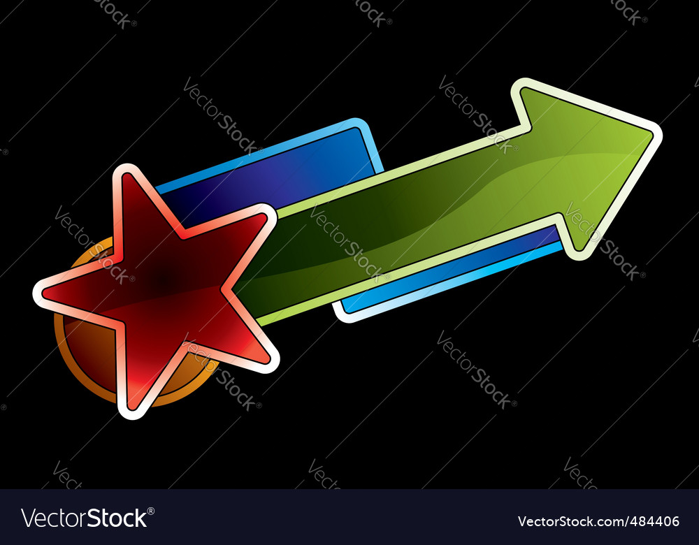 Success in funky style vector | Price: 1 Credit (USD $1)