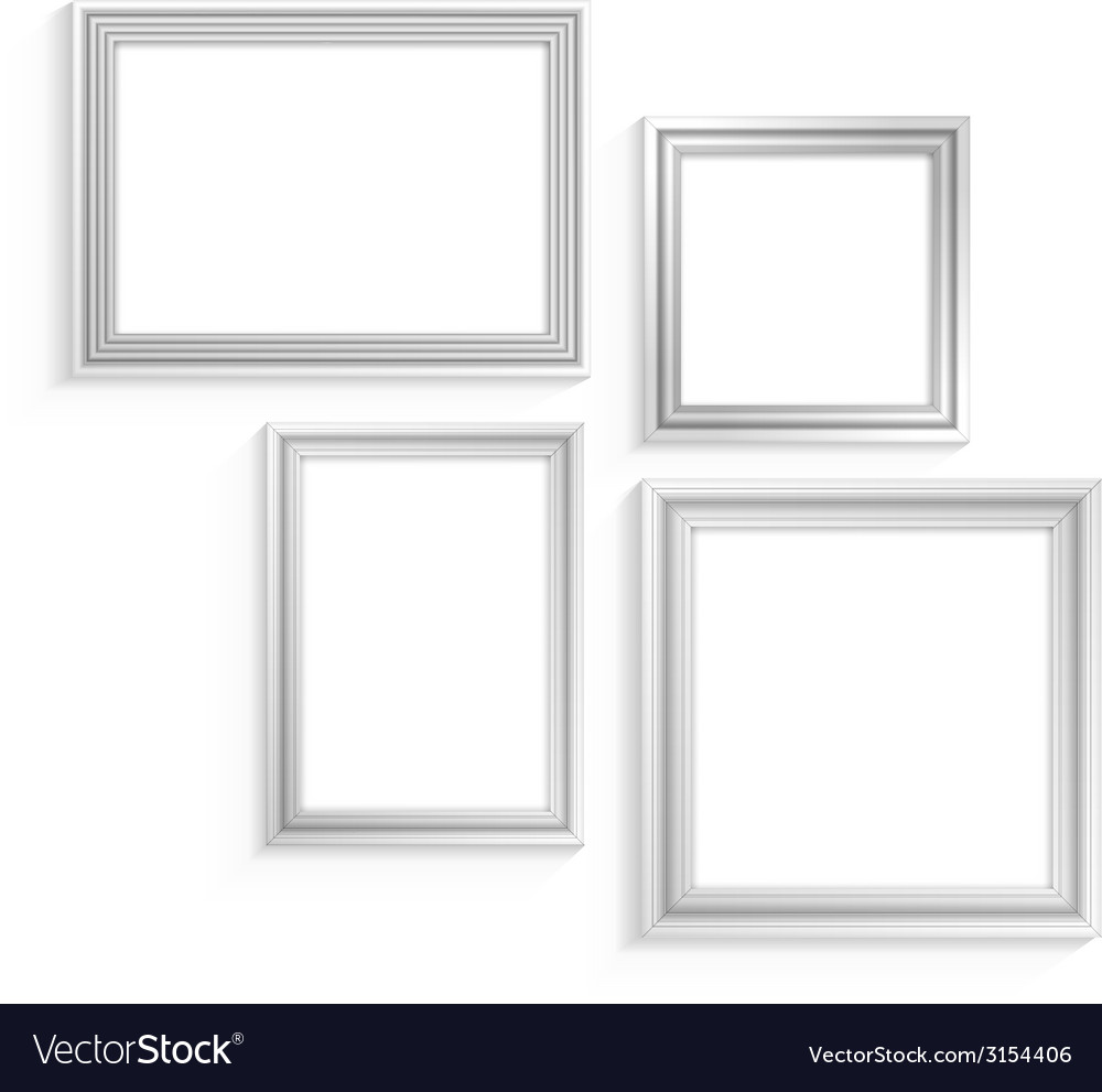 White frames set vector | Price: 1 Credit (USD $1)
