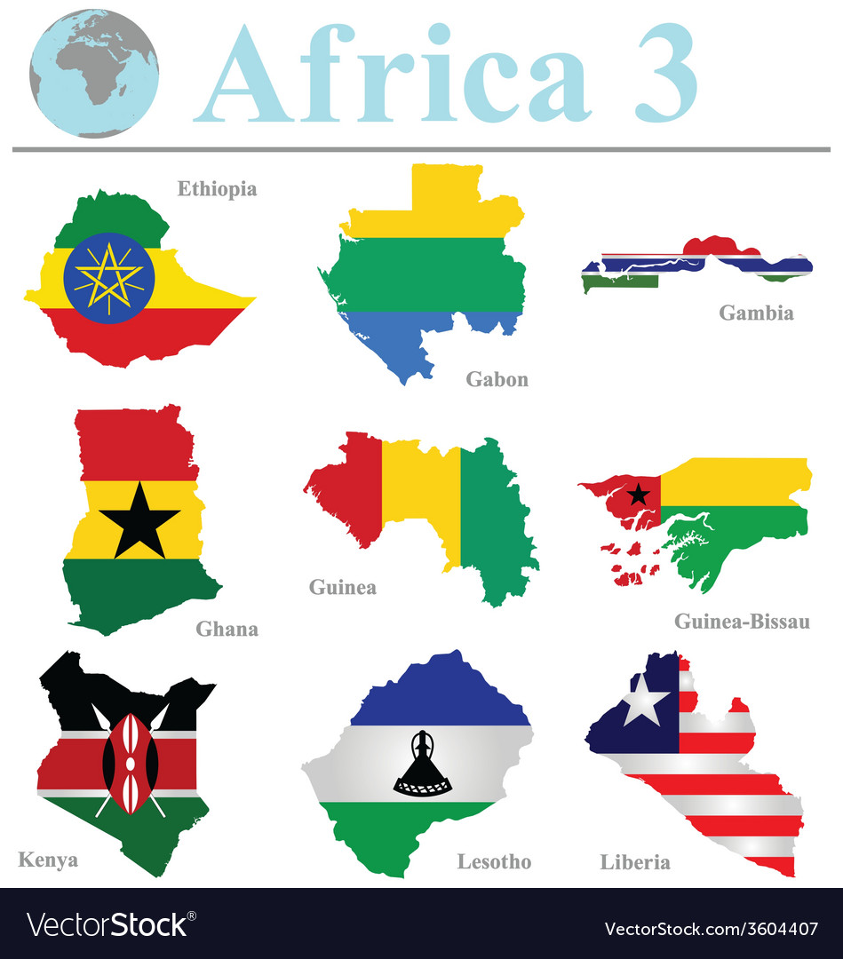 Africa collection 3 vector | Price: 1 Credit (USD $1)