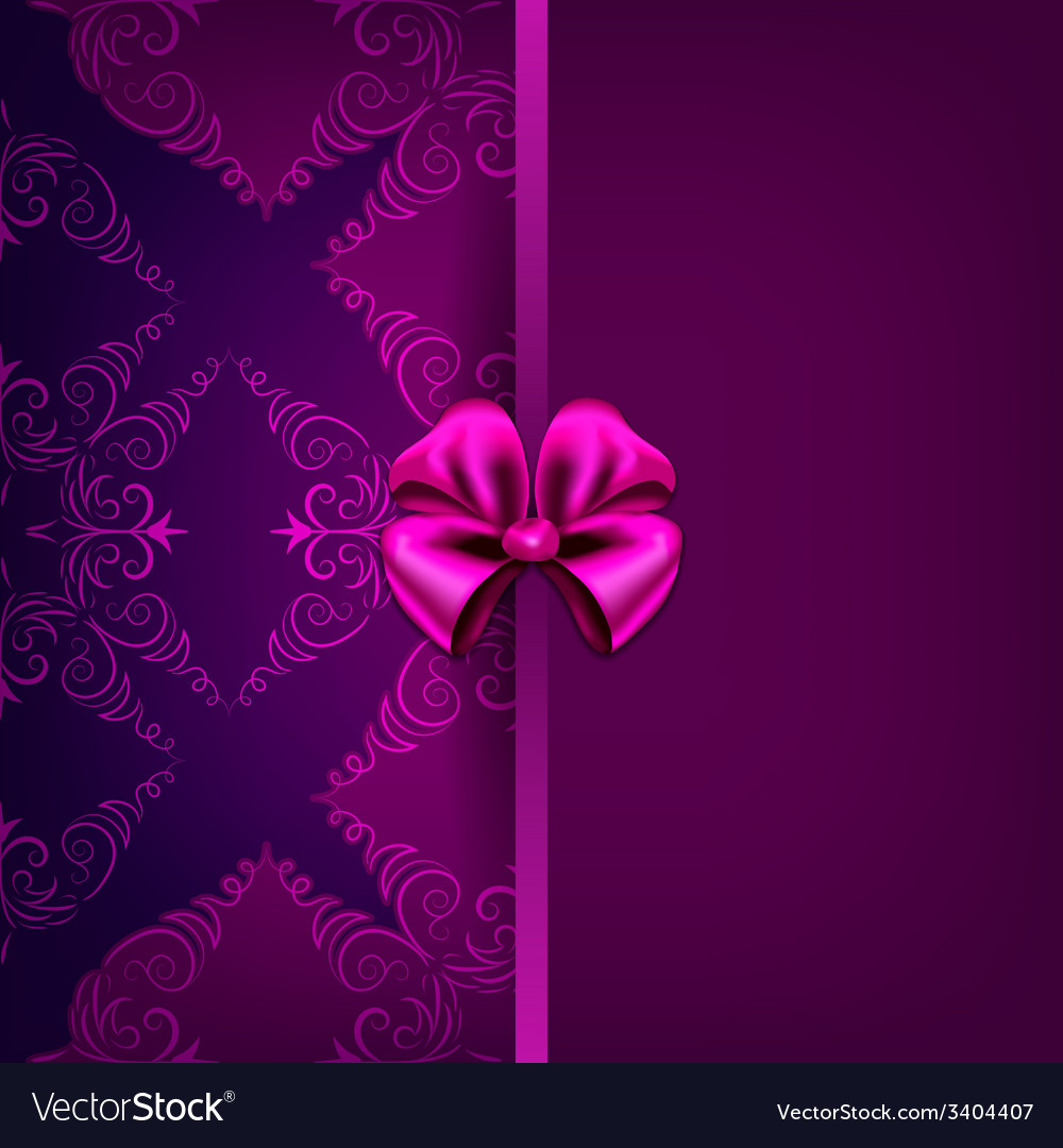 Greeting card with filigree floral pattern vector   Price: 1 Credit (USD $1)