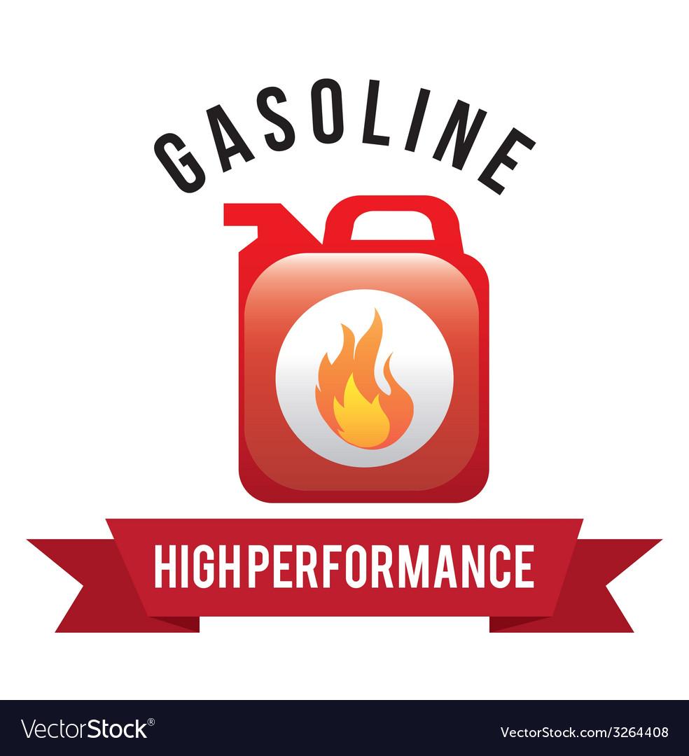 Gas industry design vector | Price: 1 Credit (USD $1)