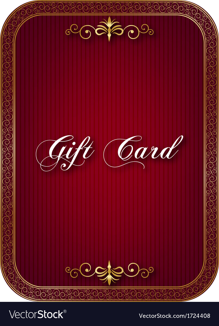 Gift card vector | Price: 1 Credit (USD $1)