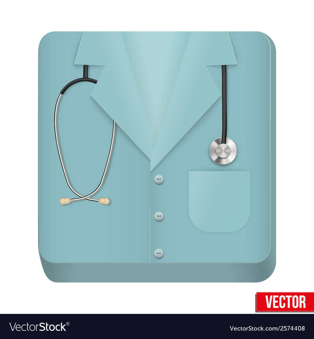 Premium icon medical uniforms vector | Price: 1 Credit (USD $1)