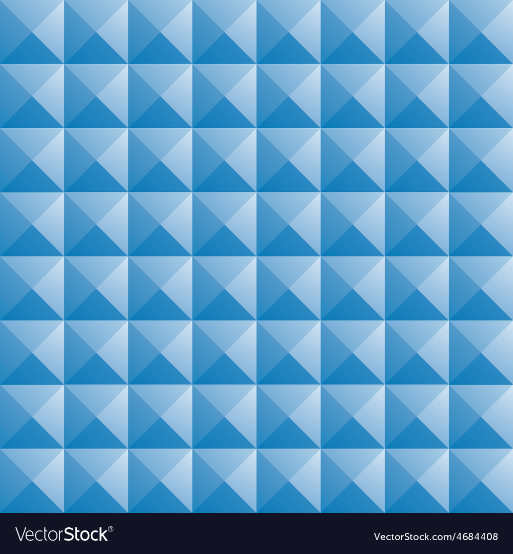 Triangle blue jewel texture seamless background vector | Price: 1 Credit (USD $1)