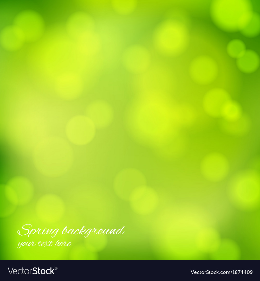Abstract background in green color vector | Price: 1 Credit (USD $1)