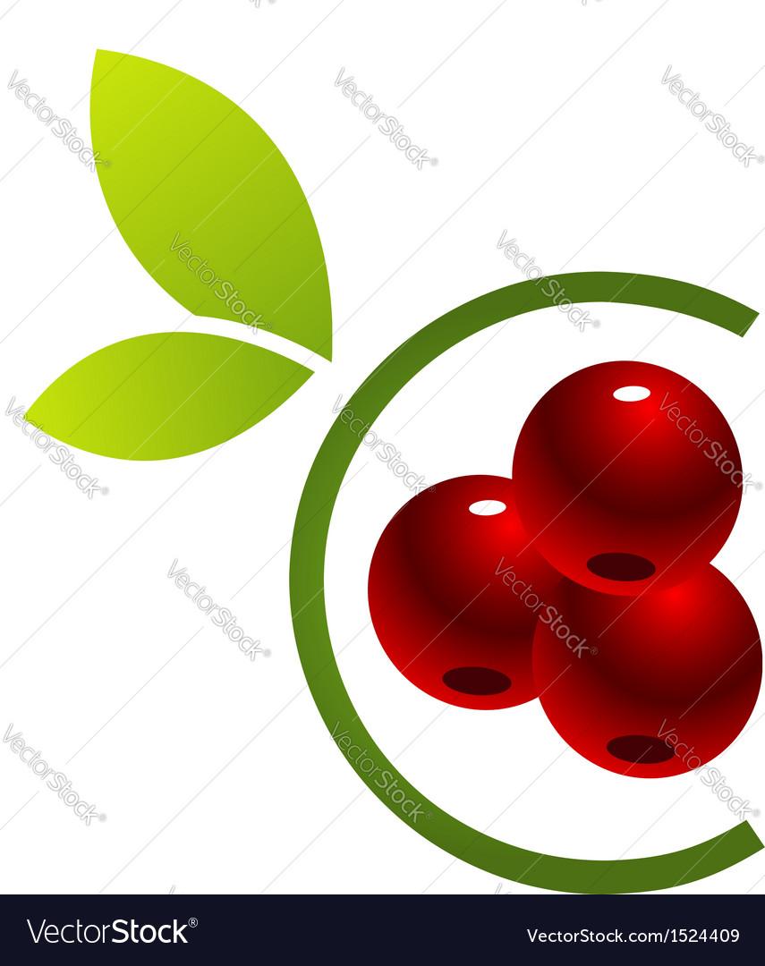Cherry logo vector | Price: 1 Credit (USD $1)
