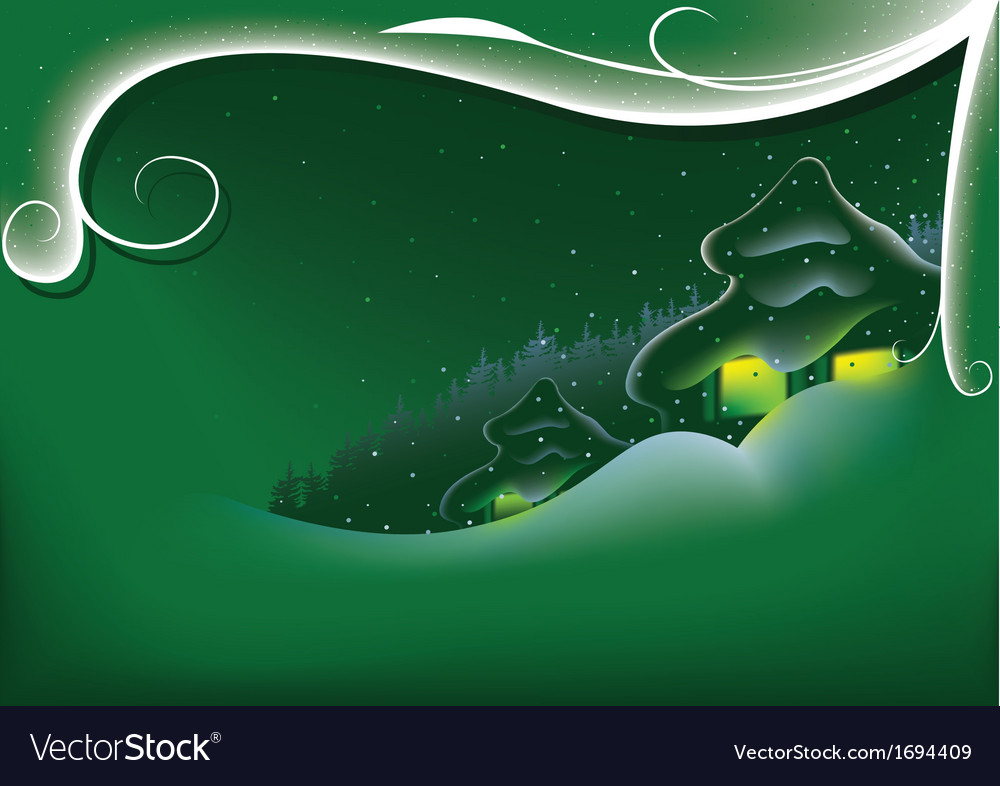 Green abstract xmas vector | Price: 1 Credit (USD $1)