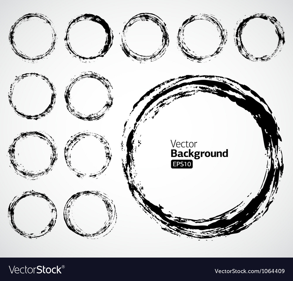 Grunge ink draw background vector | Price: 1 Credit (USD $1)
