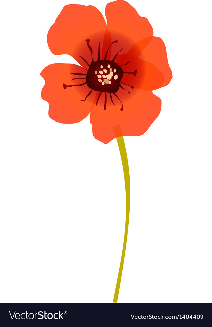 Icon flower vector | Price: 1 Credit (USD $1)