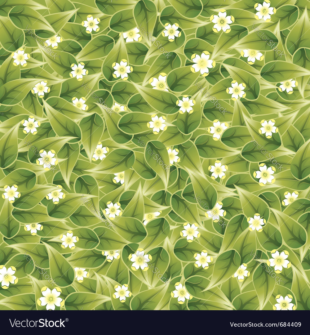 Nature pattern vector | Price: 1 Credit (USD $1)