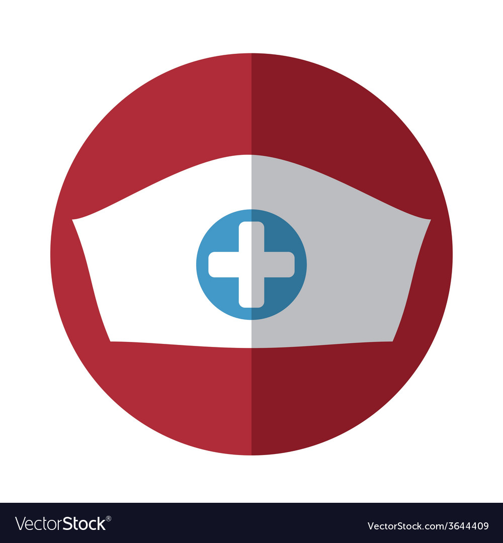 Nurse hat vector | Price: 1 Credit (USD $1)