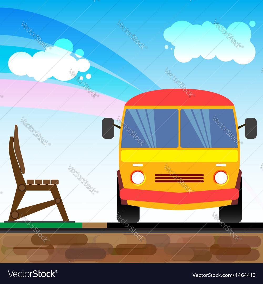 Bus1 vector | Price: 1 Credit (USD $1)