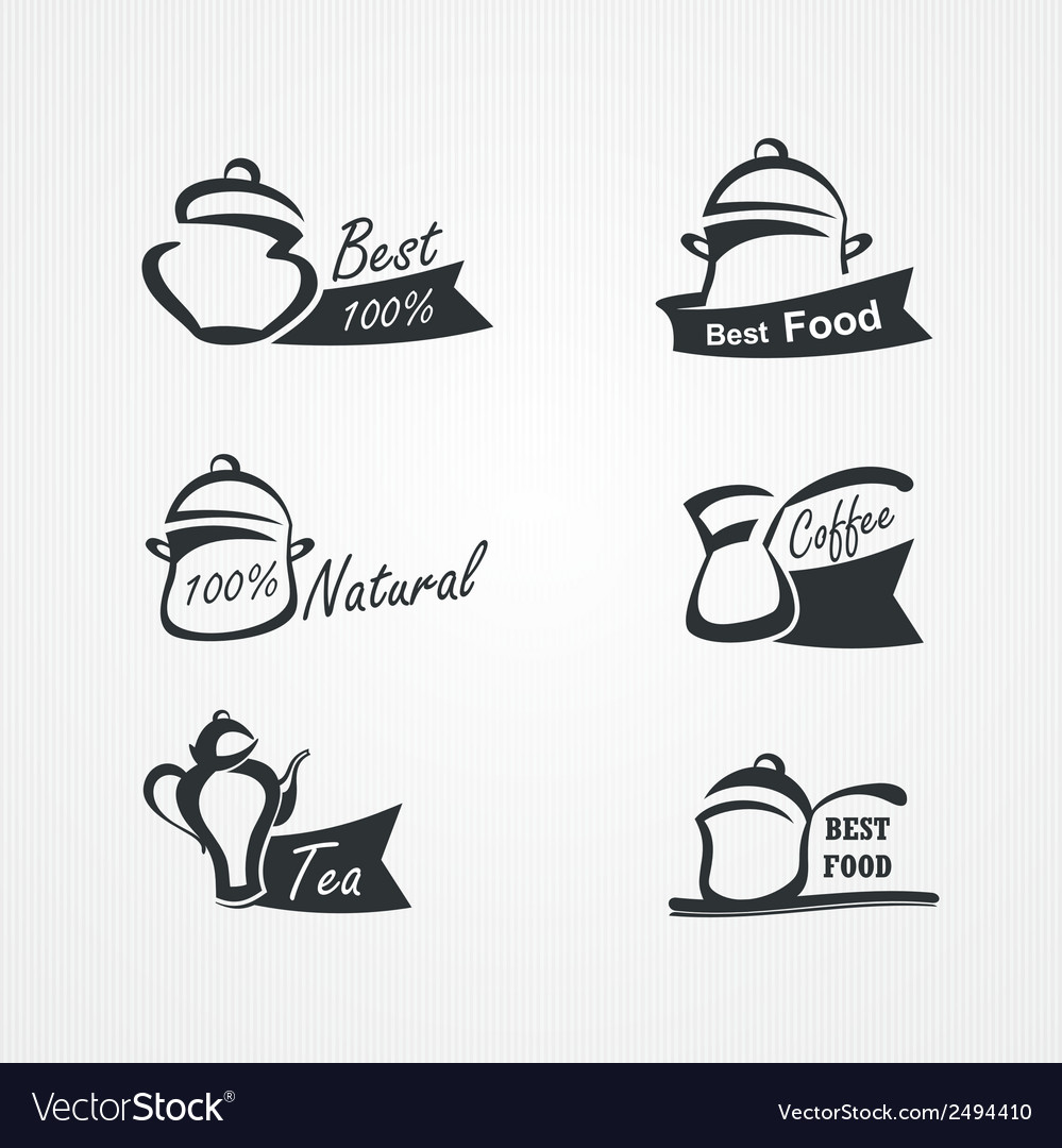 Cooking symbols vector | Price: 1 Credit (USD $1)